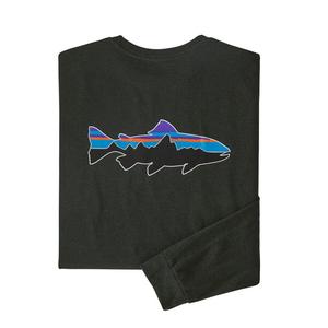パタゴニア(patagonia) 【21春夏】メンズ ロングスリーブ フィッツロイ トラウト レスポンシビリティー 38516 メンズ長袖Tシャツ