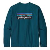パタゴニア(patagonia) メンズ P-6 ロゴ オーガニック クルー スウェットシャツ 39603 メンズ長袖Tシャツ