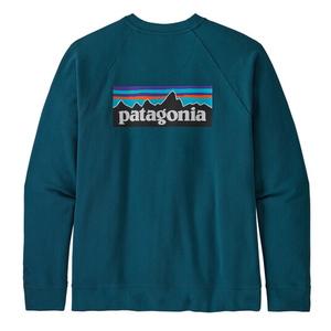 パタゴニア(patagonia) メンズ P-6 ロゴ オーガニック クルー スウェットシャツ 39603