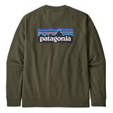 パタゴニア(patagonia) 【21春夏】メンズ P-6 ロゴ オーガニック クルー スウェットシャツ 39603 メンズ長袖Tシャツ