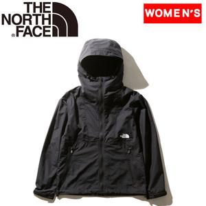 【送料無料】THE NORTH FACE(ザ・ノースフェイス) COMPACT JACKET(コンパクト ジャケット) Women's M K(ブラック) NPW71830