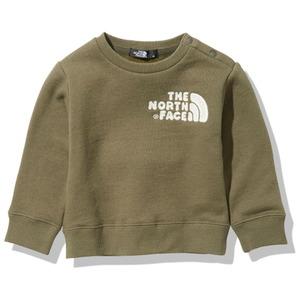 THE NORTH FACE(ザ・ノースフェイス) 【21春夏】Baby's FRONTVIEW CREW(フロントビュー クルー)ベビー NTB12007
