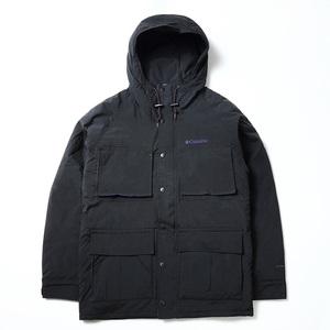 【送料無料】Columbia(コロンビア) HYPE WOLF HOODE JACKET(ハイプ ウルフ フード ジャケット) Men's L 010(Black) PM3835