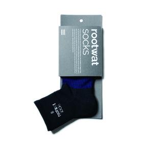 rootwat socks(ルートワットソックス) WASHI HYBRID SOX SHORT L(27-28.5) NV/BK 45178