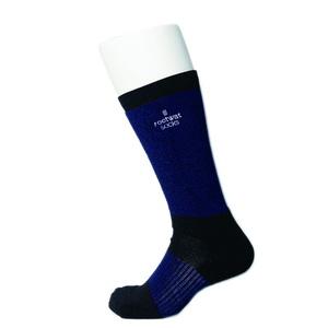 rootwat socks(ルートワットソックス) WOOL HYBRID LONG SOX「SS Ver」 S(22-23.5) NV/BK 45180