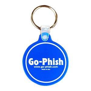 Go-Phish(ゴーフィッシュ) Go-Phish ロゴ キータグ #2 Blue