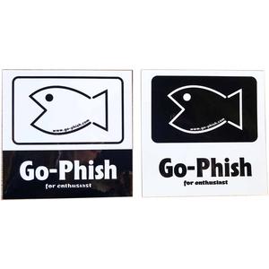 Go-Phish(ゴーフィッシュ) フィッシュステッカー 2枚入