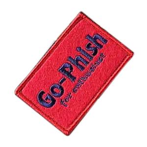Go-Phish(ゴーフィッシュ) Go-Phish ベルクロワッペン M スクエア