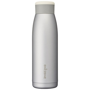 ドウシシャ(DOSHISHA) ON度ZONEふるふるボトル 420ml シルバー OZFF420SV