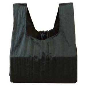 チケットトゥザムーン(TICKET TO THE MOON) エコ コンビニバッグ 約6L ブラック TMCB07