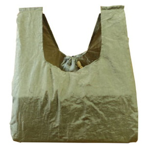 チケットトゥザムーン(TICKET TO THE MOON) エコ コンビニバッグ 約6L カーキ TMCB22