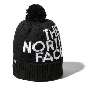 THE NORTH FACE(ザ・ノースフェイス) Kid's POM POM BIG LOGO BEANIE(キッズ ポンポン ビッグロゴ ビーニー) NNJ42002