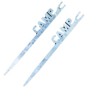 37キャンプ(37CAMP) カトリペグ 蚊取り線香対応ペグ 2本入り ケース付き FR210