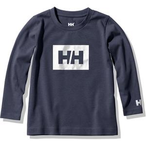 HELLY HANSEN(ヘリーハンセン) KIDS LONG SLEEVE LOGO TEE(キッズ ロングスリーブ ロゴ ティー) HJ32055