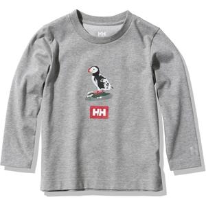 HELLY HANSEN(ヘリーハンセン) Kid's LONG SLEEVE ANIMAL TEE(キッズ ロングスリーブ アニマル ティー) HJ32060