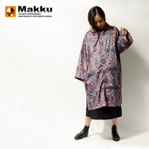マック(Makku) レイン ポンチョ ドレス AS-600