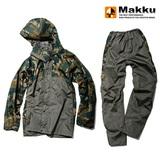 マック(Makku) クロス オーバー レインスーツ AS-8510 レインスーツ(メンズ&男女兼用上下)