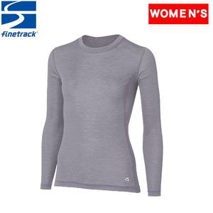 ファイントラック(finetrack) メリノスピンライトロングスリーブ Women's FUW0721 レディース長袖アンダーシャツ