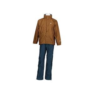 【送料無料】カナディアン イースト(Canadian East) Rain Wear Men's (レイン ウェア メンズセット) (上下セット) XL BRNV(ブラウンネイビー) CEW7011S
