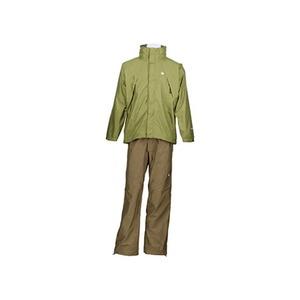 【送料無料】カナディアン イースト(Canadian East) Rain Wear Men's (レイン ウェア メンズセット) (上下セット) L OLDBE(オリーブダークベー) CEW7011S