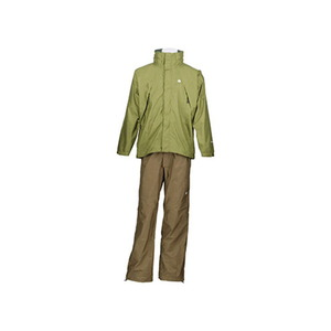 【送料無料】カナディアン イースト(Canadian East) Rain Wear Men's (レイン ウェア メンズセット) (上下セット) XL OLDBE(オリーブダークベー) CEW7011S