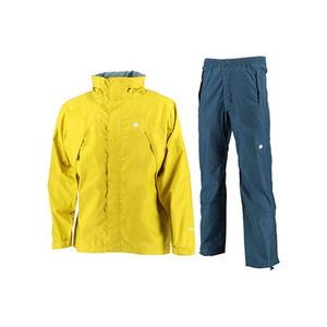 【送料無料】カナディアン イースト(Canadian East) Rain Wear Men's (レイン ウェア メンズセット) (上下セット) M YLNV(イエローネイビー) CEW7011S