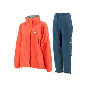 【送料無料】カナディアン イースト(Canadian East) Rain Wear Lady's (レイン ウェア レディースセット) (上下セット) L ORGNV(オレンジネイビー) CEW8011S
