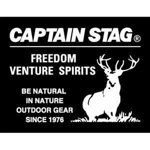 キャプテンスタッグ(CAPTAIN STAG) ステッカー スクエア UM-1524