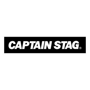 キャプテンスタッグ(CAPTAIN STAG) ステッカー ロゴ 190×38mm BLK UM-1527
