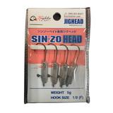 エクストリーム SIN-ZO HEAD ファインフック ワームフック(ジグヘッド)