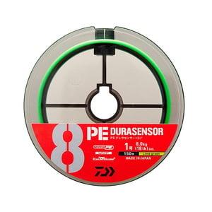 ダイワ(Daiwa) UVF PEデュラセンサー×8+Si2 LG 300m 2号 ライムグリーン 07303646