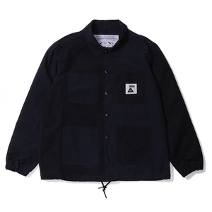 POLeR(ポーラー) SUMMIT COVERALL COACH JACKET 55200200-BLK