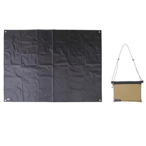 POST GENERAL(ポストジェネラル) GROUND SHEET & SACOCHE BAG BE×BK 982040033