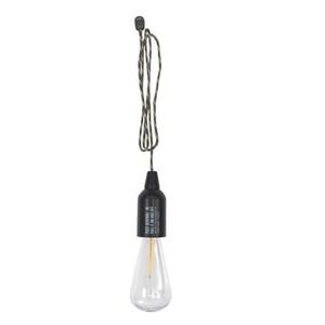 POST GENERAL(ポストジェネラル) HANG LAMP TYPE1 最大50ルーメン 単四電池式 BLACK 982070012