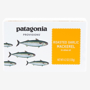 パタゴニア(patagonia) サントーニャ サバ オリーブオイル漬 ローストガーリック 120g PRL00
