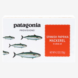 パタゴニア(patagonia) サントーニャ サバ オリーブオイル漬 スパニッシュパプリカ 120g PRL01