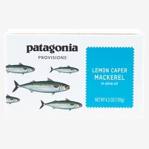 パタゴニア(patagonia) サントーニャ サバ オリーブオイル漬 レモンケイパー 120g PRL02
