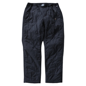 QUILT WORK PANT insulated POLARTECR POWER FILL M BLACK