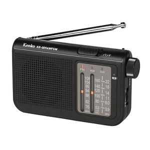 Kenko(ケンコー) AM/FM 短波ラジオ ブラック KR-009AWFSW