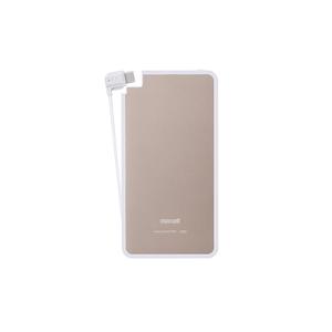 日立マクセル(日立maxell) Type-Cケーブル一体型モバイル充電バッテリー「軽(かる)薄(うす)」 3000mAh MPC-RTC3000PGD