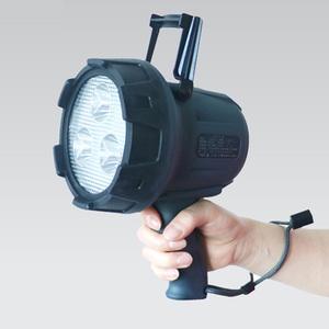 【送料無料】グッド グッズ(good goods) LEDサーチライト 充電式 ブラック YC-15G