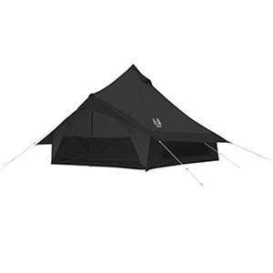 カナディアン イースト(Canadian East) Glole12 BLACK グロッケ12 ブラック 5~6人用 モノポール+1フレーム型テント CETO1004