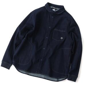 gym master(ジムマスター) ストレッチデニムシャツジャケット G533668