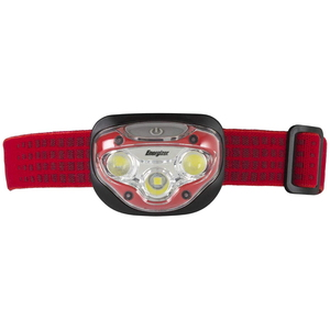 Energizer(エナジャイザー) VISION ヘッドライト 300ルーメン 単四電池式 レッド HDB323
