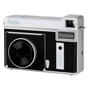 【送料無料】Kenko(ケンコー) モノクロインスタントカメラ 感熱紙使用 ブラック KC-TY01 BK