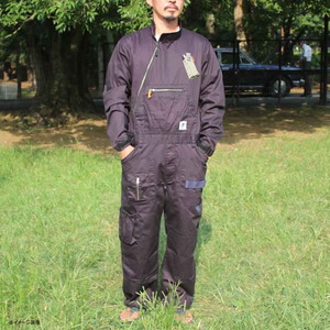 ジーアールエヌアウトドア(grn outdoor) HIASOBI BIG BEN JUMP SUIT(ヒアソビ ビッグ ベン ジャンプ スーツ) GO0265Q