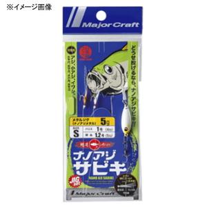メジャークラフト ナノアジサビキ ジグセット AD-SABIKI SET/ SS