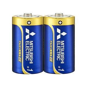 MITSUBISHI(三菱電機) アルカリ乾電池 単1形 2本入 長持ちハイパワー EXシリーズ 使用推奨期限10年 LR20EXD/2S