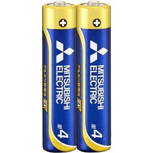 MITSUBISHI(三菱電機) アルカリ乾電池 単3形 2本入 長持ちハイパワー EXシリーズ 使用推奨期限10年 LR6EXD/2S