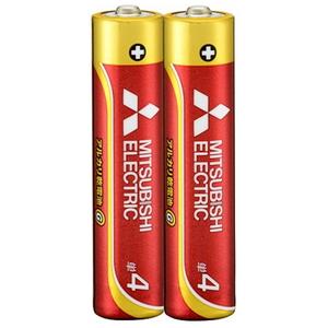 MITSUBISHI(三菱電機) アルカリ乾電池 単4形 2本入 長持ちパワー Gシリーズ 使用推奨期限5年 LR03GD/2S